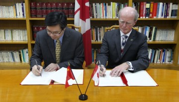 Faculty of Medicine signs agreement with Chinese Ministry of Health