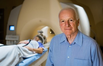 Alex MacKay, founding director of the UBC MRI Research Centre. Photo: Don Erhardt