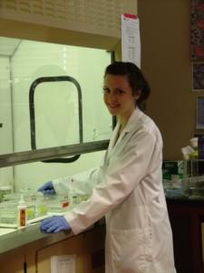 IMP student, Katrina Genuis