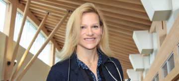 Dr. Jacqueline Pettersen, Associate Professor at the Northern Medical Program at the University of Northern British Columbia and Associate Professor in the Division of Neurology in UBC's Department of Medicine