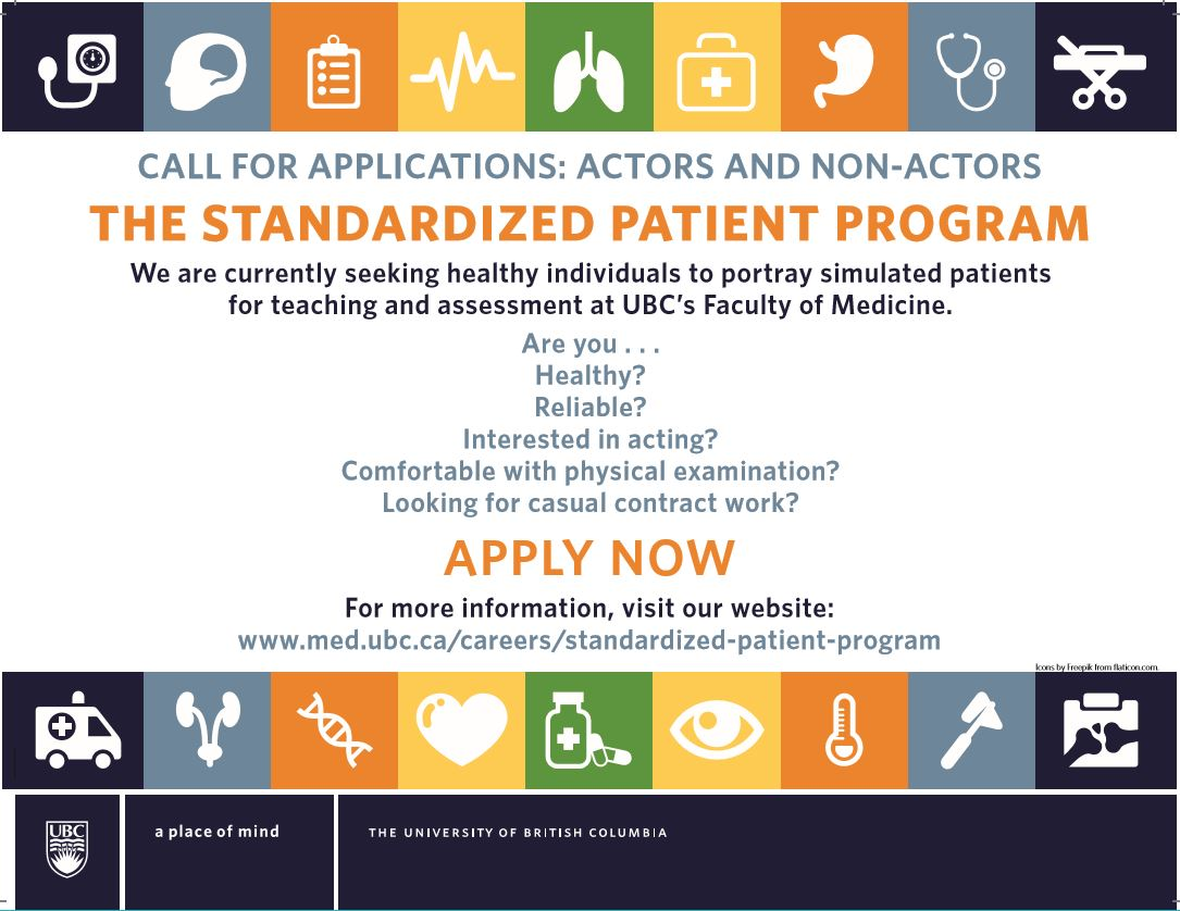 Standardized Patients - UBC Faculty of Medicine