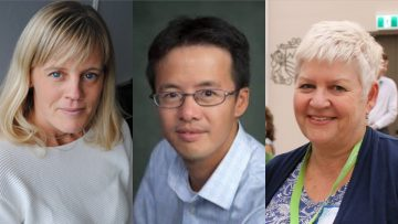 Three faculty members receive CAME Certificate of Merit Award
