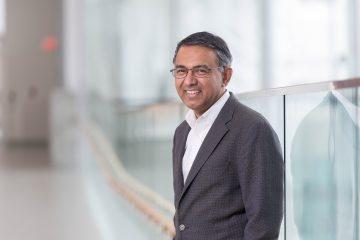 Dr. Sriram Subramaniam, the Gobind Khorana Canada Excellence Research Chair in Precision Cancer Drug Design