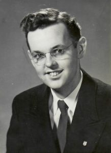 Graham Clay as a student at UBC