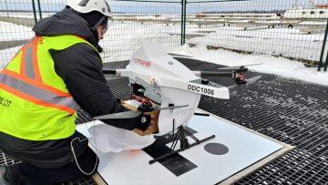 Community partners celebrate launch of Drone Transport Initiative